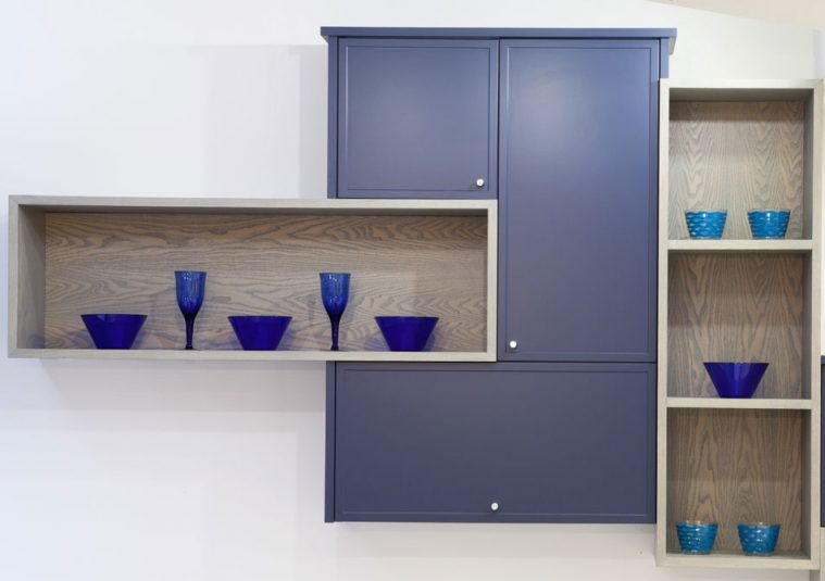 Micro shaker kitchen cabinet doors