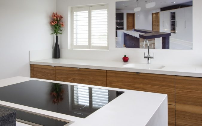 Corian Worksurfaces And Sink