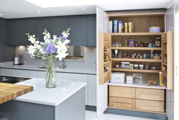 What Is A Larder Cupboard Or Pantry Cupboard?