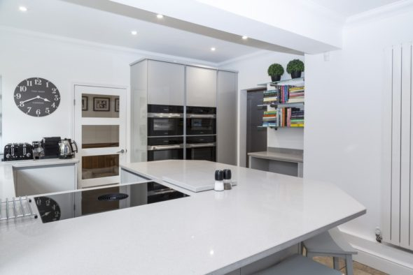 A Sleek, Storage-rich Kitchen In Eltham